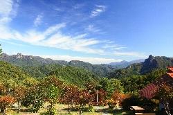 自然公園からの眺望